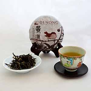 Jingmai Da Ping Zhang 100g cake raw pu-erh