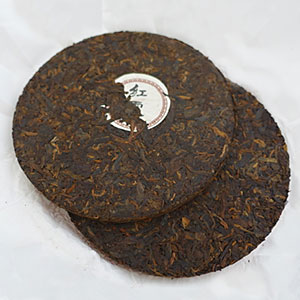 Two 200 gm tea cakes