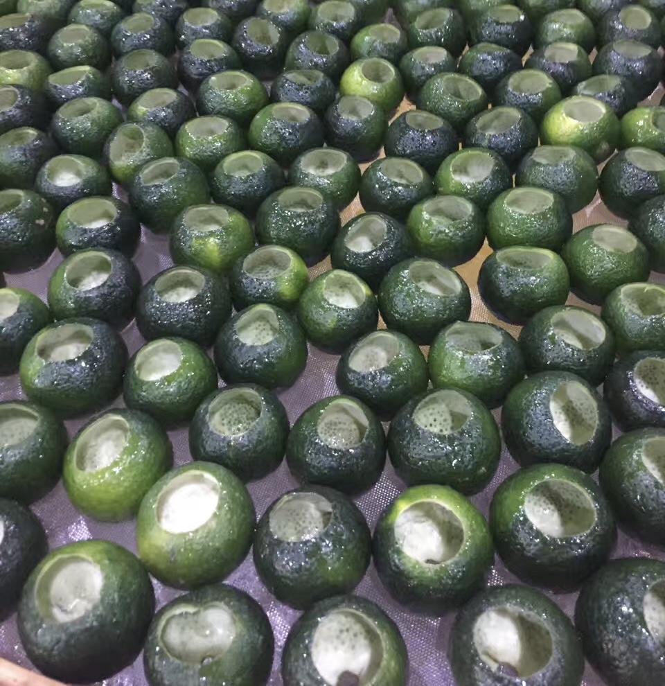 Green Mandarin Tuo Cha 1