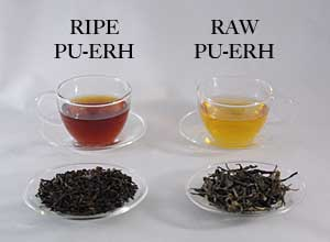 Two Types of Pu-Erh Tea