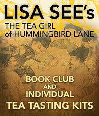Lisa Sees Book Club and Tea Tasting Kits