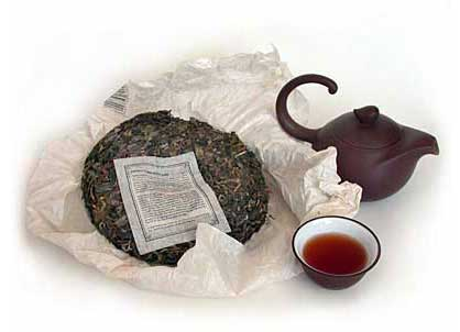 Pu-erh teas from Bana Tea